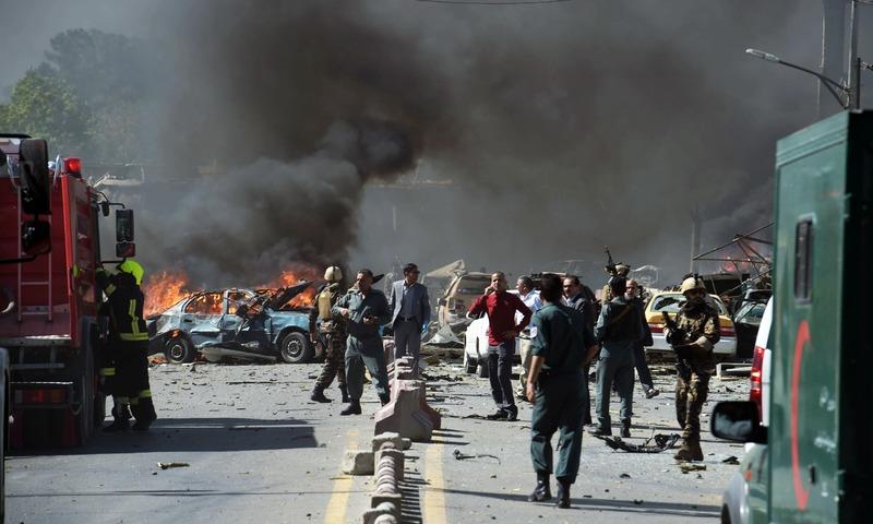 काबुलको विस्फोटमा बाह्र जनाको मृत्यु