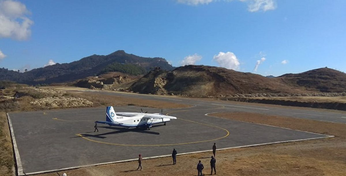 भद्रपुरबाट सीता एयरलाइन्सले ताप्लेजुङ  उडान सुरु