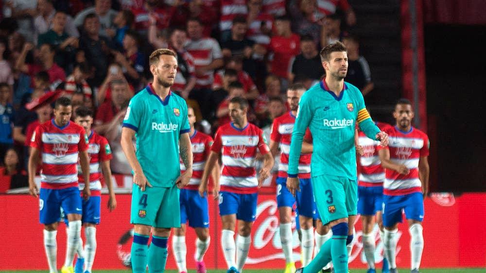 बार्सिलोनाको लज्जास्पद हार