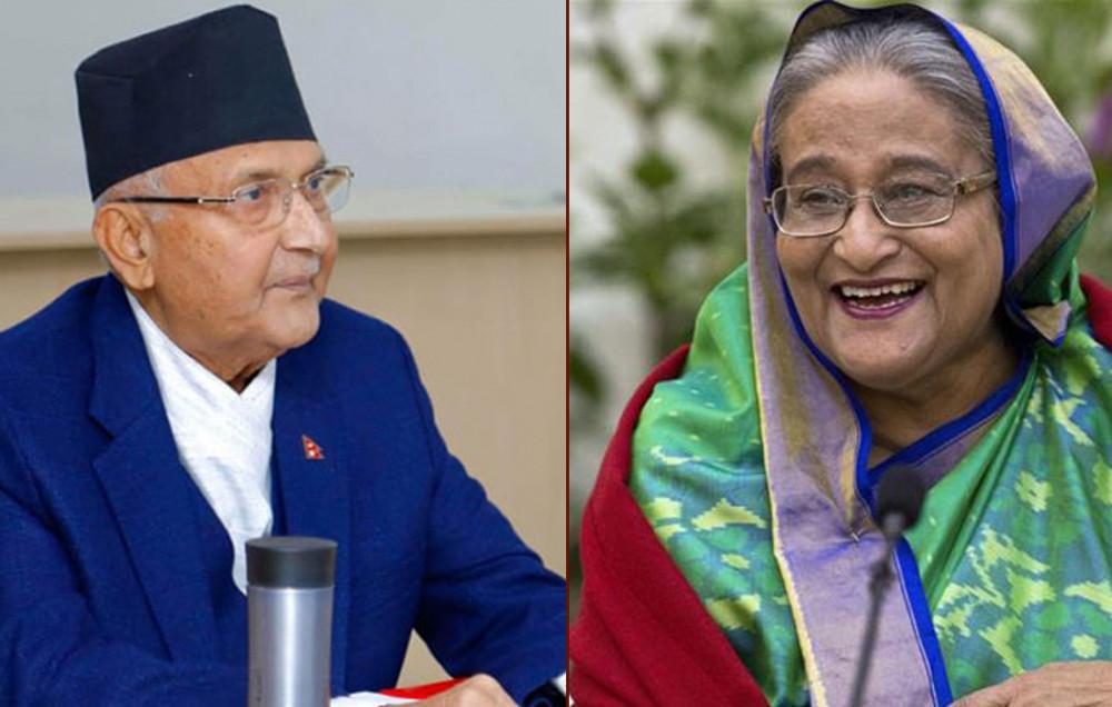 प्रधानमन्त्री ओलीद्वारा ५० हजार टन युरिया मल पैंचो दिन बंगलादेशकी समकक्षीलाई आग्रह
